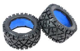 "HPI Baja 5B rear ""ALL TERRAIN"" tire set"