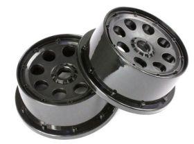 5T Front Wheels w/ beadlocks & screws
