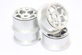 5B Aluminum UFO Wheels Set w/ beadlocks & screws